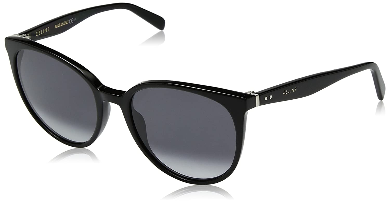 aac5cbe51417 Céline Thin Mary CL41068 S 807 W2 Black Dark Grey Gradient  Amazon.co.uk   Clothing
