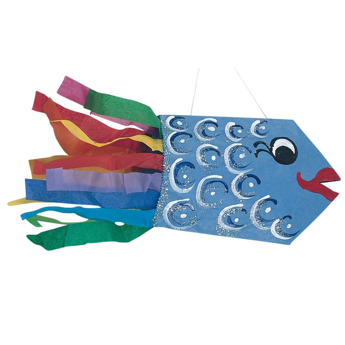 S&S Worldwide Catch The Fish Tail Craft Kit - Pack of 28