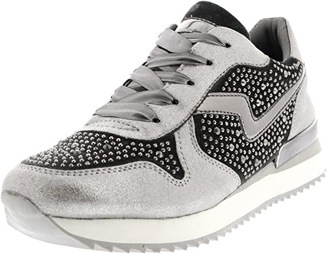 trainers diamante mesh light weight