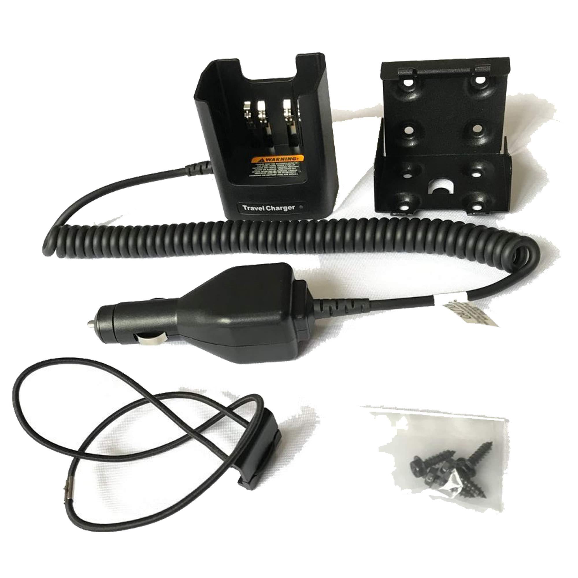 BLVL RLN4884 Travel Car Charger for Motorola XTS5000 XTS3500 XTS3000 XTS2500 XTS2250 Radio