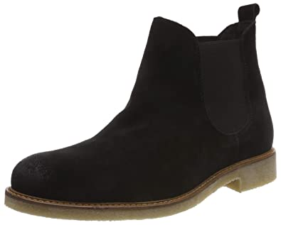 ddf65048c2d9 Bianco Men s Warm Suede Chelsea Boots  Amazon.co.uk  Shoes   Bags