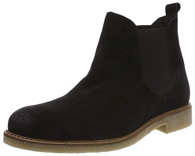 59b1655151bb Bianco Men s Warm Suede Chelsea Boots  Amazon.co.uk  Shoes   Bags