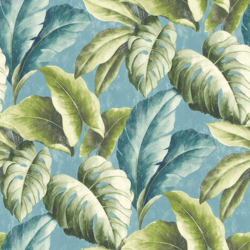 Saint Honore Papel pintado flora tropical