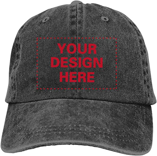 Social Security Administration Vintage Washed Distressed Snapback Hats Fashion Twill Denim Jean Hat Dad