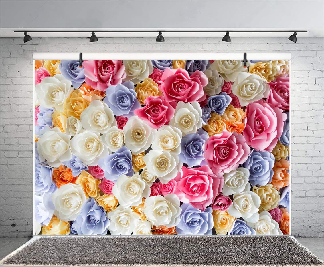 Amazon Yeele Paper Flowers Backdrops 7x5ft Paper Flowers