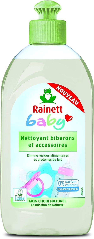 Rainett Detergente lavavajillas para biberones y utensilios de ...