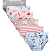 0d19058a3cb6 Sladatona Little Girls' Soft Cotton Underwear Bring Cool, Breathable  Comfort Experience Panty(Pack