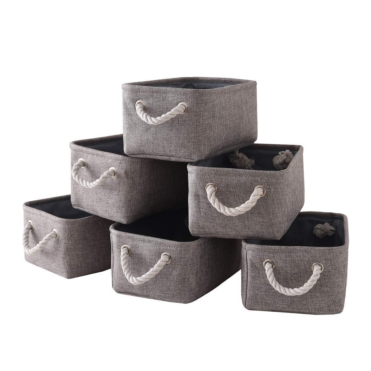 Cute Animal Collapsible Toy Storage Organizer Folding: Amazon.com: TheWarmHome Storage Bins Baskets For Shelves