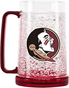 NCAA Florida State Seminoles 16oz Crystal Freezer Mug
