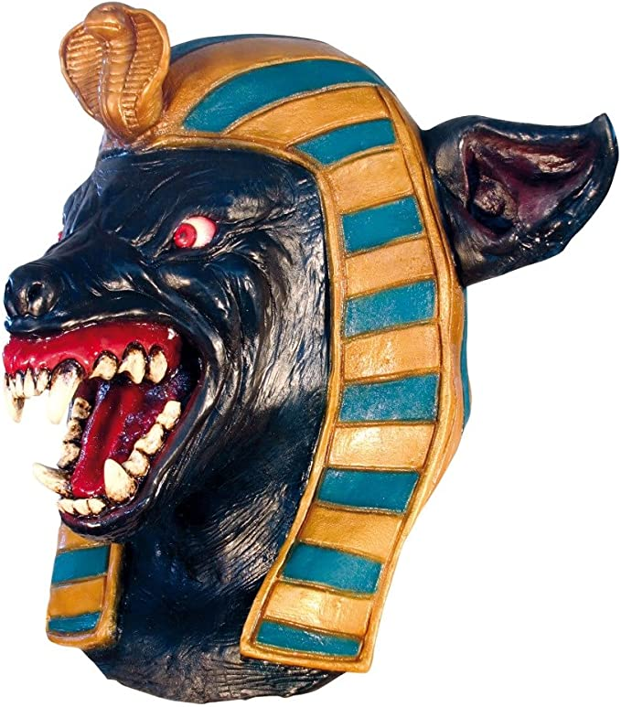 Anubis Large Head & Neck (máscara/careta): Amazon.es: Juguetes y ...