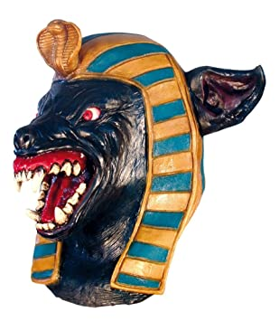 Anubis Large Head & Neck (máscara/careta)