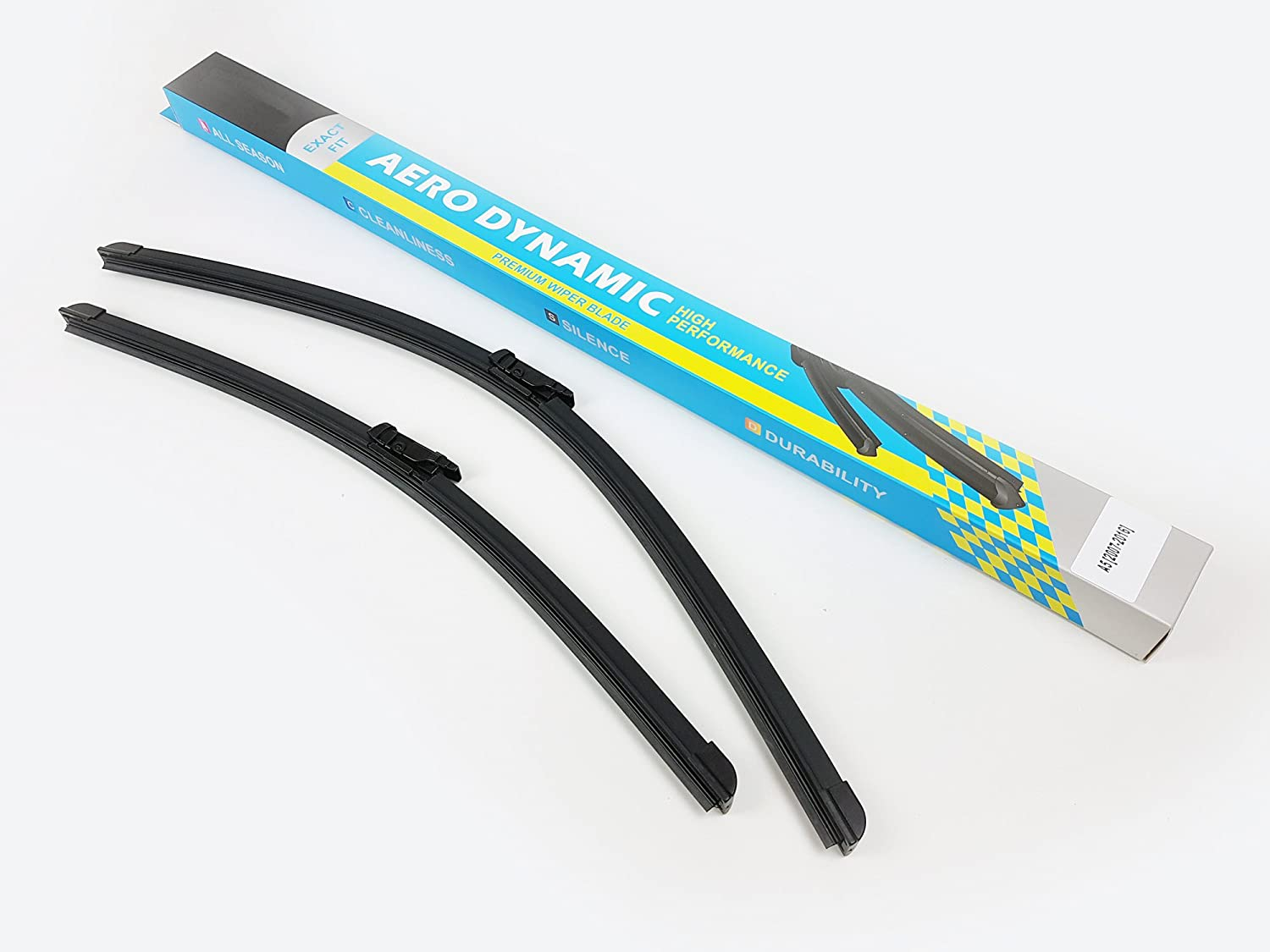 2007-2016 A5 8T 2X Front Window Windscreen Aero Wiper Blades Pair