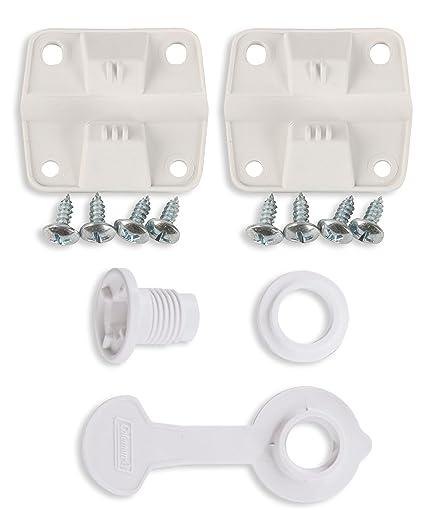 c14c89c3f1e Image Unavailable. Image not available for. Color: Coleman Cooler Plastic  Hinge Set & Standard Drain Plug Assembly ...