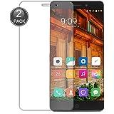 E-Hamii [2-Pack] Elephone P9000 Protect Film, 0,26mm HD Anti-graffio e anti-impronte digitali proteggi schermo, 9H calotta di protezione in vetro temperato, una migliore protezione (Nota: Non Full Coverage)