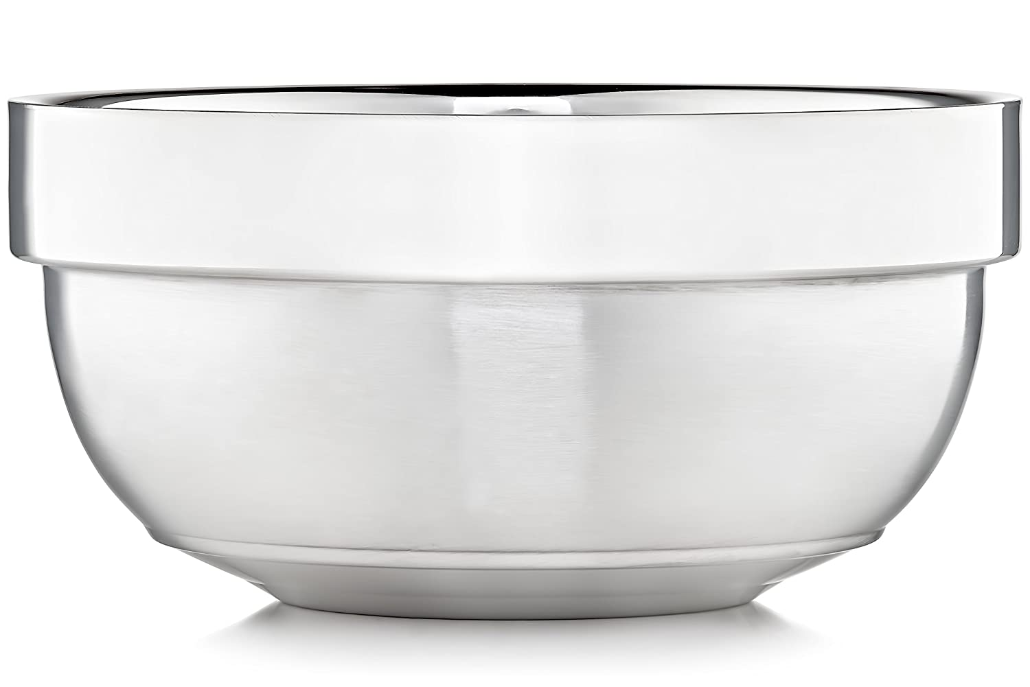 Justice Shaving Company Shave Bowl - Dual Layer Stainless Steel JSC-Stainless-Bowl-001