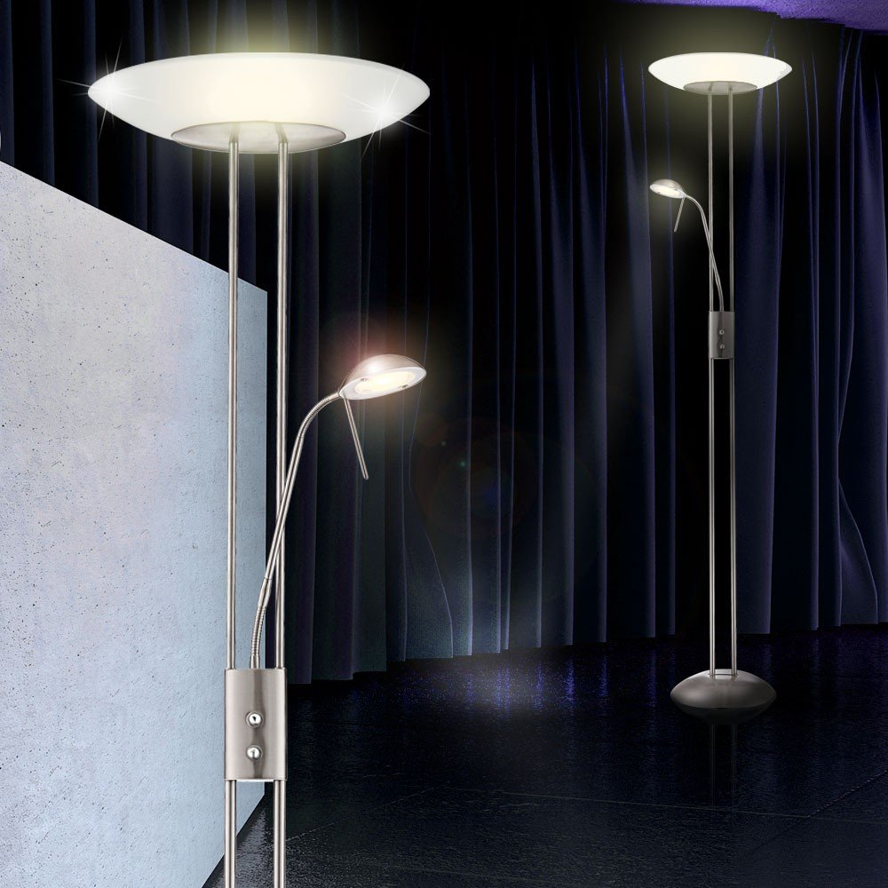 stehlampe led wohnzimmer. Black Bedroom Furniture Sets. Home Design Ideas