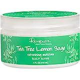 Renpure plant-based Beauty Tea Tree Lemon Sage Refreshing Moisture Scalp Scrub, 4 Fluid Oz