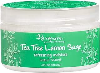 product image for Renpure plant-based Beauty Tea Tree Lemon Sage Refreshing Moisture Scalp Scrub, 4 Fluid Oz