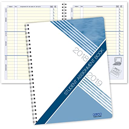 amazon com dated student planner for middle or high school august