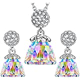 "LadyColour ""Before Sunrise"" Jewelry Set Made with Swarovski Crystals"