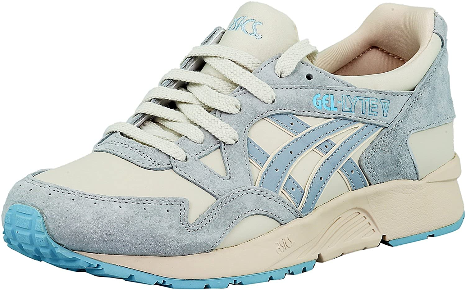info for 5b91b cd035 Onitsuka Tiger Womens Gel-Lyte V-H6T5L Low Top, Moonbeam Light Grey, Size  8.0 US 6 UK  Amazon.co.uk  Shoes   Bags