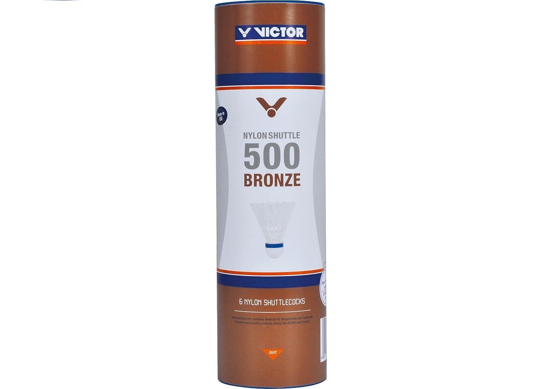 Plumas de Nailon para b/ádminton Victor Shuttle 500