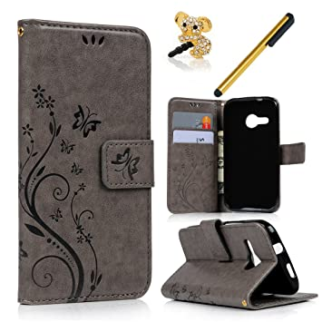 Htc One M8 Bookcase.Maxfe Co Leather Case Cover For Htc One M8 Mini Htc One