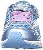TSUKIHOSHI Girls' Glitz-K Sneaker, Ice/Pink, 5.5 M