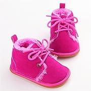 51ab9dcb15 Sabe Winter Newborn Unisex Baby Girls Boys Velvet Rubber Sole Anit-slip  Shoes Prewalker Boots