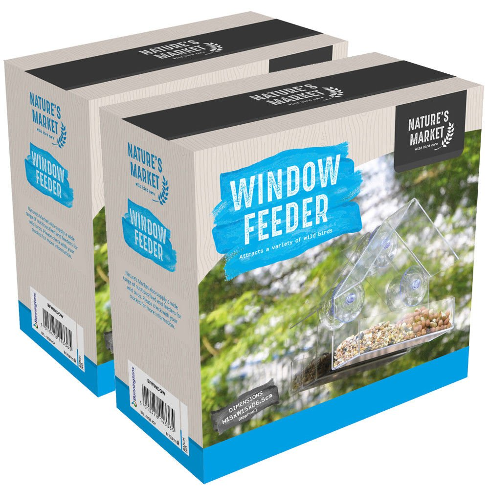 Comedero de pájaros para Ventana King Fisher: Amazon.es: Productos para mascotas