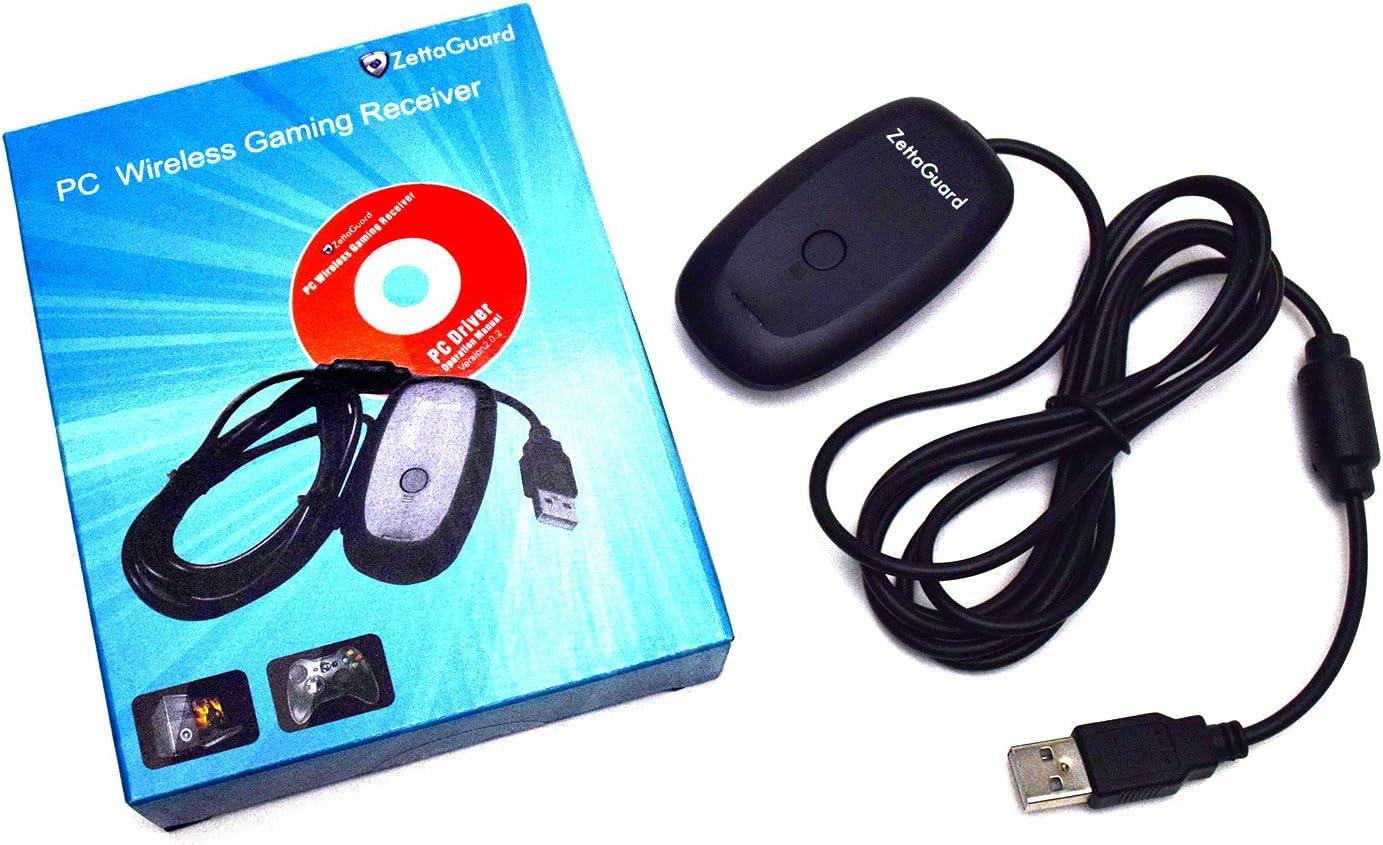 Amazon.com: Zettaguard Xbox 360 Wireless Receiver for Windows PC ...