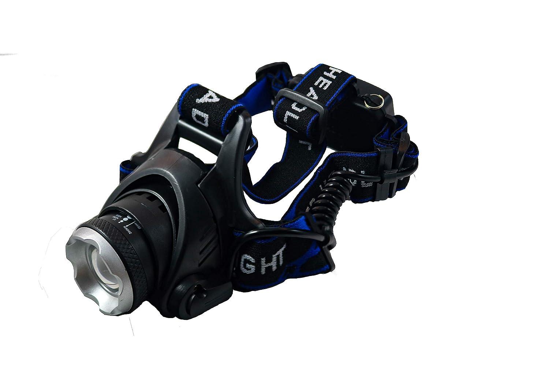 Leer y m/ás. f/ácil de Usar Krystal Ligera y c/ómoda 3 x AAA Camping 3 W LED COB Muy Brillante Funciona con Pilas Linterna Frontal LED L/ámpara LED para Cabeza