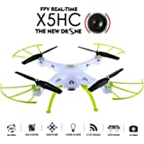 WayIn® 2016 New Syma X5HC 2.4G 6-Axis Gyro HD Camera RC Quadcopter with Hovering Height-adjustment Function Green