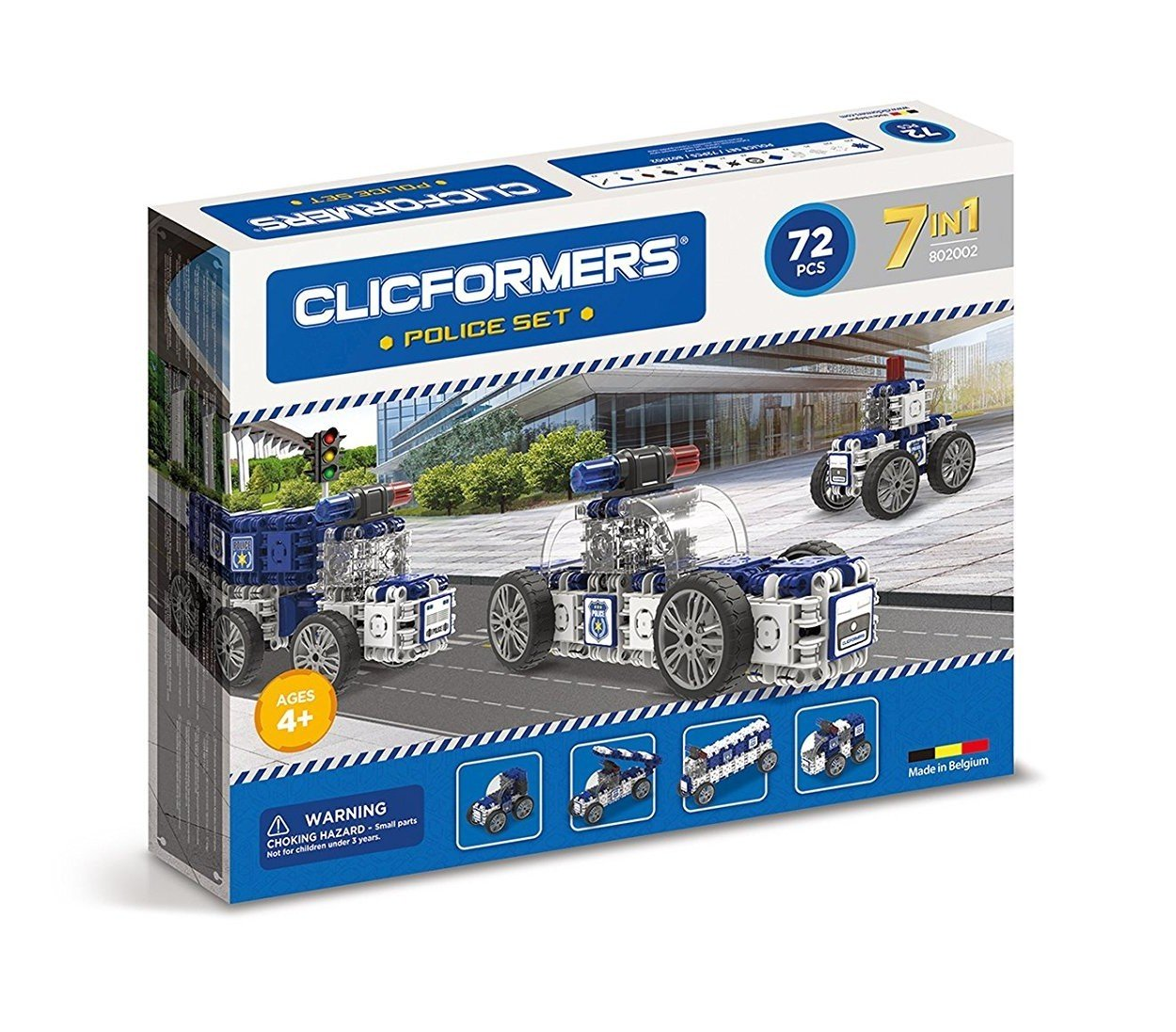 Clicformers 802002 Police Construction Toy
