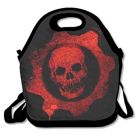 Ciao Home Symbol Gears Of War Lunch Tote Bag With Adjustable Straps