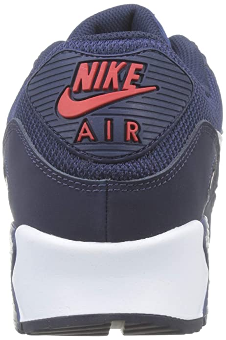 outlet store 81292 b38e2 Amazon.com   Nike Men s Air Max 90 Essential Low-Top Sneakers   Road Running