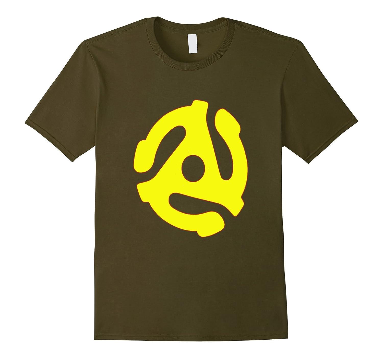45 Rpm Record Adapter Dj Vinyl Rpm Mens T Shirt Vaci Vaciuk