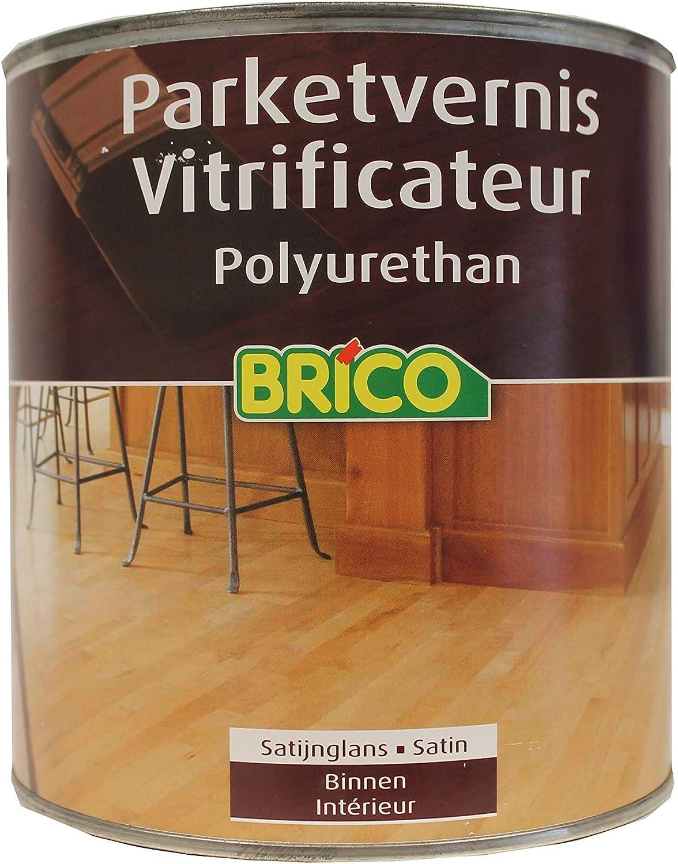 Bricostar Vernis parquet incolore seidenglänzend Polyuréthane ...
