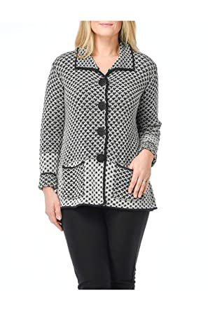 Habitat Clothes Lattice Stitch Mixed Cardigan At Amazon Women S