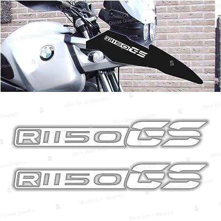 2pcs Aufkleber Kompatibel Für Motorrad R1150 Gs Bmw Motorrad R 1150 R1150gs White Auto
