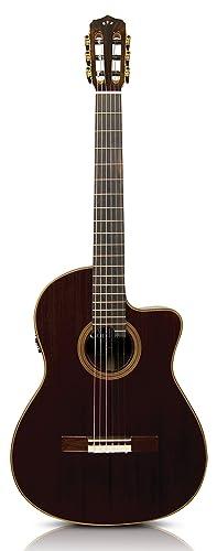 Cordoba Fusion 12 Rose Acoustic Electric Nylon String Classical Guitar