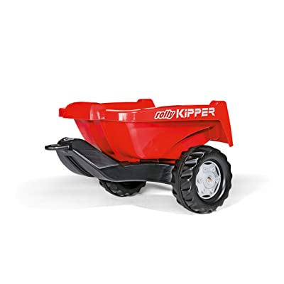 rolly toys Kipper II Trailer, Red: Toys & Games