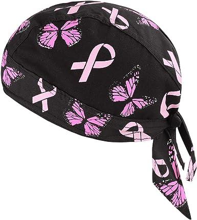 Cycling Skull Cap Head Wrap Hat Stylish Motorcycle Hat Print Bandana Bicycle Hat