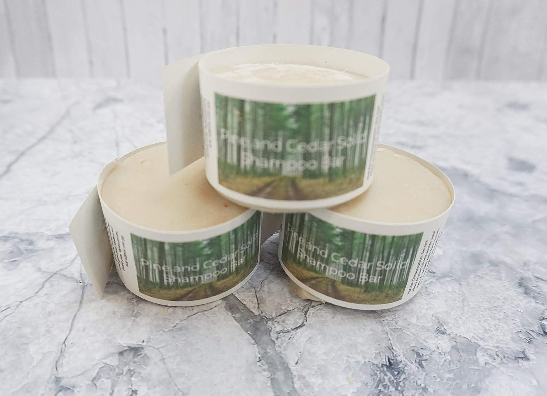 Solid Shampoo Bar - Cedar and pine - Zero Waste Hair Care