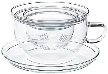 Teetassen Glas trendglas jena tea teetasse mit glasfilter 0 3 liter amazon