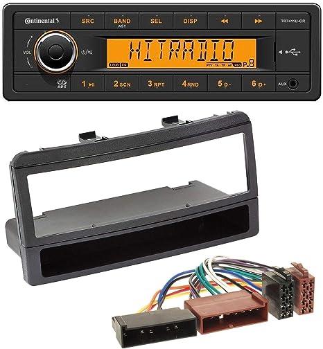 Caraudio24 Continental Tr7411u Or 1din Usb Aux Mp3 Elektronik