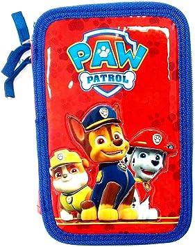 Paw Patrol - Estuche 3 Zip - Carioca Interna - 14 Colores Pastel, 14 rotuladores, Regla y Equipo: Amazon.es: Juguetes y juegos