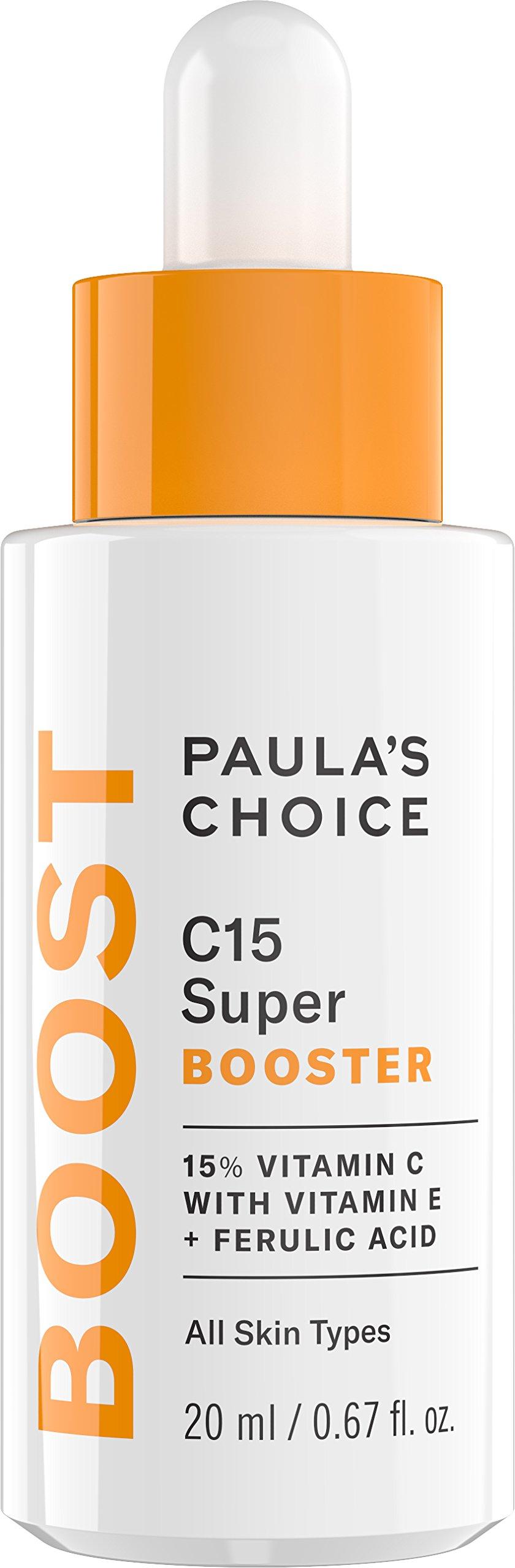 Paula's Choice BOOST C15 Super Booster, 15% Vitamin C with Vitamin E & Ferulic Acid, Skin Brightening Serum, 0.67 Ounce by Paula's Choice