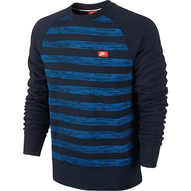 : Nike Men's Aw77 Speed Stripe Crewneck