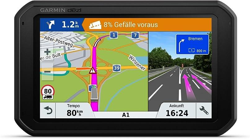 Garmin Dezl780 Full Eu Lmt D Navigationshandgerät Europakarte Inklusiv Lebenslangen Kartenupdates Lkw Spezifische Routing Und Funktionen Schwarz Navigation